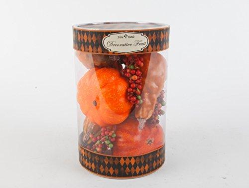 Flora Bunda FT-2547A 8pc Pumpkins in Cylinder Box-12 boxes