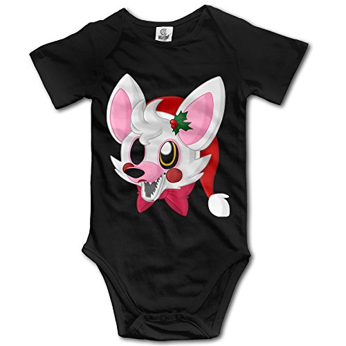 ASHIN Trailerb Video Game Five Night For 6-24 Months Toddler Short Sleeve Romper Bodysuit 12 Months (Disney Infinity Halloween Costumes)