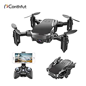 Drone with Camera, Conthfut C16W 720P FPV RC Quadcopter Drone for Kids and Beginners