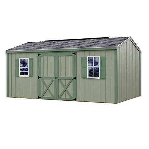 Best Barns Cypress 16 ft. x 10 ft. Wood Storage Shed Kit without Floor by Best Barns Inc.