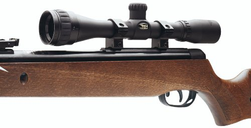 BSA 4x32AO Rifle Scope, Standard Reticle, 1/4 MOA, 1 Tube by BSA
