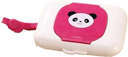 Voyage enfant Bo/îte /à mouchoirs Poussette Sac /à langer /… Distributeur de lingettes b/éb/é Portable pour lingettes papier humide