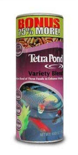 Tetrapond 16455 Variety Blend Food, 5.29-Ounce, 1-Liter b...