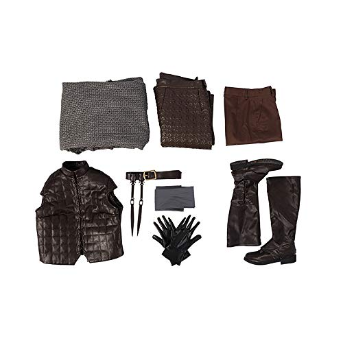 GoT (Season 8) - Arya Stark Female Cosplay Costume - Maisie Williams]()