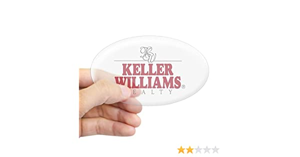 Amazon com cafepress keller williams realty oval sticker oval bumper sticker euro oval car decal home kitchen