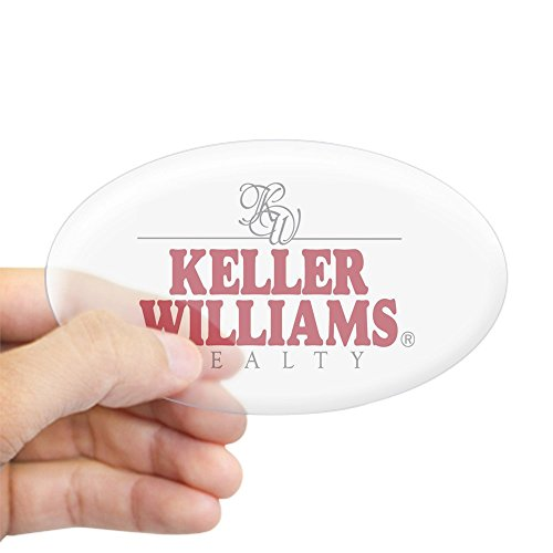 CafePress - Keller Williams Realty Oval Sticker - Oval Bumper Sticker, Euro Oval Car Decal