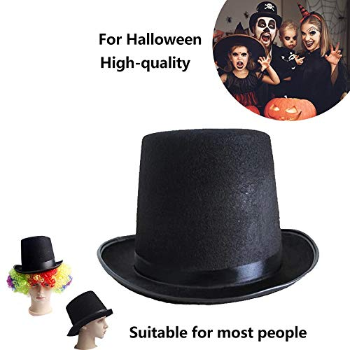 Large high 16CM Top hat Jazz hat Halloween Manufacturers Props 78g