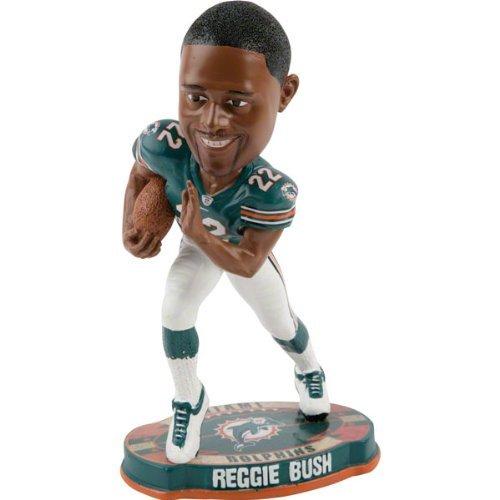(Reggie Bush Miami Dolphins 2012 NFL Forever Collectibles Bobble Head )