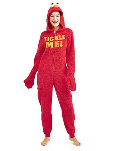 Sesame Street Women's Licensed Sleepwear Adult Costume Union