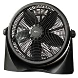 ALERA FAN163 16'' Super-Circulation 3-Speed Tilt Fan Plastic Black