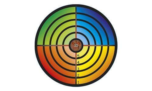 Holzspielerei Bois Gadget 73530–2–Cible Multicolore 73530-2