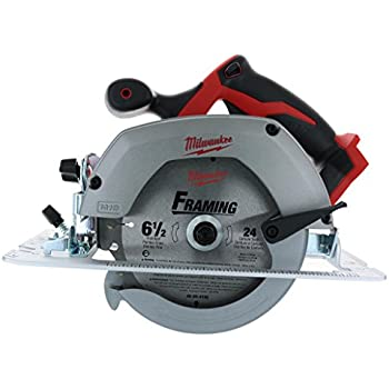 Bare-Tool Milwaukee 2630-20 Bare-Tool 18-Volt 6-1/2-Inch Circular Saw (Tool Only, No Battery)