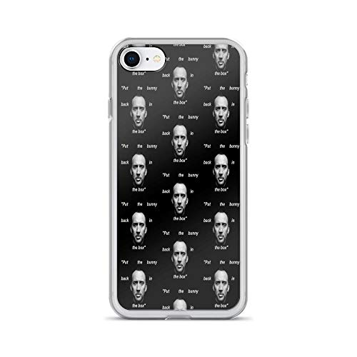 iPhone 7 Case iPhone 8 Case Cases Clear Anti-Scratch Nick Cage, Nicholas cage Cover Case for iPhone 7/iPhone 8, Crystal Clear]()