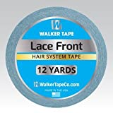 Walker Lace Front Support Tape 3/4''x 12 Yard Roll Men and Women Adhesive Tape
