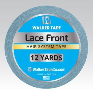 Walker Lace Front Support Tape 3/4''x 12 Yard Roll Men and Women Adhesive Tape by Walker Tape