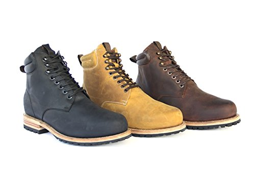 WILCOX Mens Boots SHILOH - Handmade Leather Boots for Men with Premium Comfort and Durability