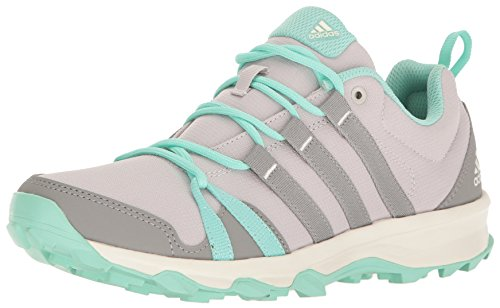 adidas Outdoor Women's Tracerocker Trail Running Shoe, Ice Purple/CH Solid Grey/Easy Green, 8.5 M US