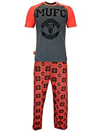 Manchester United Mens Manchester United Football Club Pyjamas