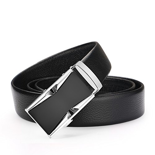 Men's belt, Iztor Genuine Leather belt with Buckle and Enclosed in Gift Box by iztor (Image #1)