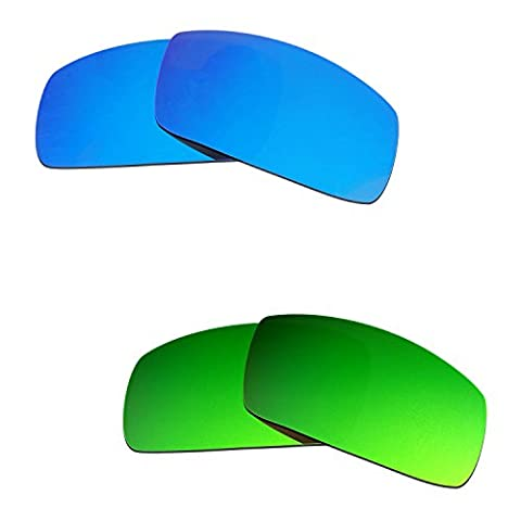 Hkuco Plus Mens Replacement Lenses For Oakley Canteen (2006) - 2 pair Combo Pack (Canteen Combo)