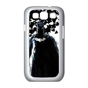 Samsung Galaxy S3 9300 Cell Phone Case White Batman and Bats R2J9CP