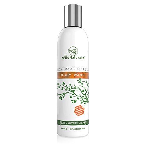 Wild Naturals Eczema & Psoriasis Soothing Body Wash (Psoriasis Wash)