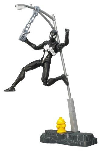 Marvel Legends Unleashed 360 Figures - Black-Suited Spider-Man