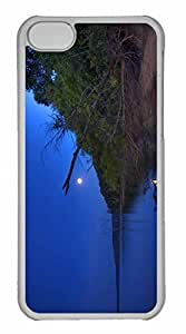 iPhone 5C Case, Personalized Custom Walk On The Wild Side for iPhone 5C PC Clear Case