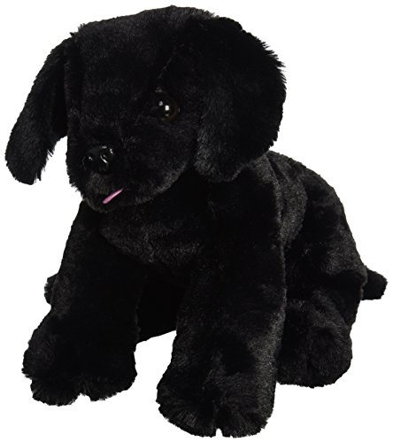 Melissa & Doug Benson Black Lab - Stuffed Animal Puppy Dog (Animals Lab)