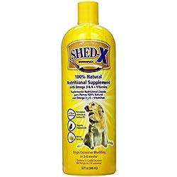 SHED-X DERMAPLEX SynergyLabs Shed X Dog (2 Pack), 32 oz