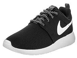 Nike Womens Roshe One Running Shoes (11.5 B(m) Us)(blackwhitedark Grey)
