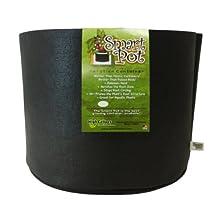 Smart Pots 5-Gallon Smart Pot Soft-Sided Container, Black
