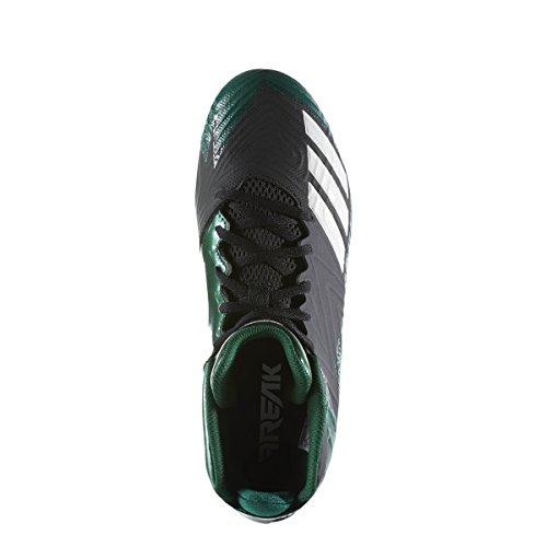 Adidas Freak X Carbon Mid Cleat Mens Nucleo Di Calcio Nero-bianco-verde Scuro