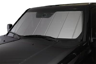Covercraft UVS100 - Series Heat Shield Custom Windshield Sunshade for Ford Super Duty (Laminate Material, Silver)