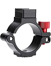 """Extension Mounting Ring, 1/4"""" Thread Extension Mounting Ring Hot Shoe Adapter for Feiyu G6 Spg2 g6plus Gimbal Stabilizer (Black)"""