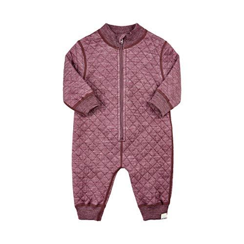 (Celavi by Scandinavian Kidz Quilted Wool Coverall (3 Mo.- 3/4 Years) (Tulipwood, 6 Months))