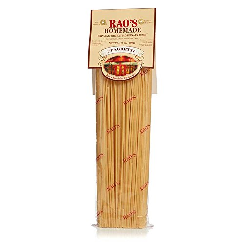 Rao's Specialty Foods, Spaghetti Pasta, 3 Pack, Artisanal Fresh Dried Italian Pasta, Classic Spaghetti Pasta from Durum Wheat Semolina Flour, Imported from Italy, A Traditional Family Favorite