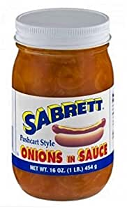 Sabrett Onions in Sauce 16 Oz. (2 Pack)