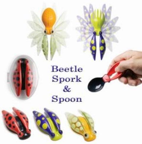 HOGWILD Beetle Spork & Spoon