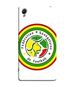 ColorKing Football Senegal 10 White shell case cover for Sony Xperia Z5