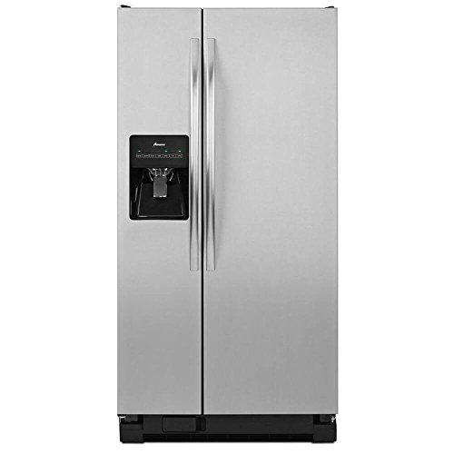 Amana ASD2275BRS 22.0 Cu. Ft. Stainless Steel Side-By-Side Refrigerator (Cu 22 Refrigerator Ft)