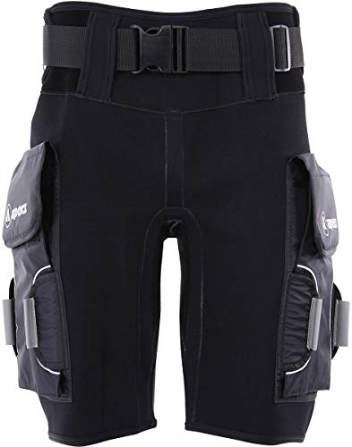 Apeks by Aqua Lung Tech Shorts With Pocket (MD) (Scuba Shorts Diving)