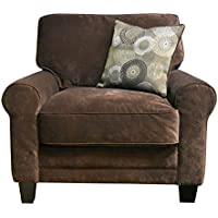Serta Copenhagen Collection Arm Chair in Rye Brown