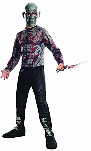 Rubies Guardians of The Galaxy Drax Destroyer Costume, Child Small (Sale Halloween Costumes)