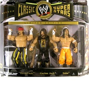 TERRY FUNK CACTUS JACK & SABU WWE JAKKS EXCLUSIVE FIGURE by Jakks Pacific
