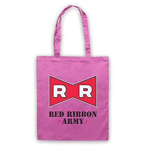 Dragon Ball Z Red Ribbon Army Bolso Rosa