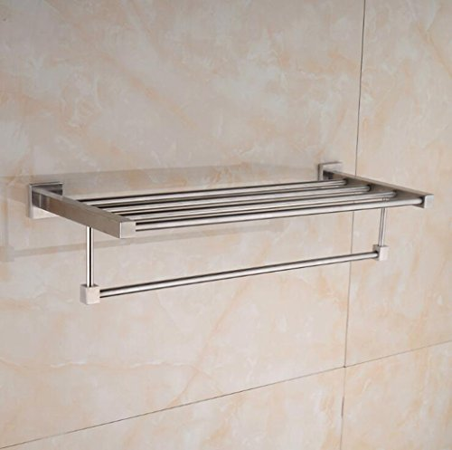 Jingzou Stainless steel towel rack bathroom pendant 6124.5CM - Victorian Towel Warmer