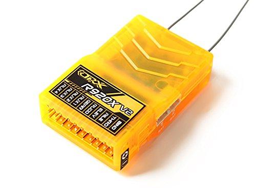 - HobbyKing OrangeRx R920X V2 9Ch 2.4GHz DSM2/DSMX Comp Full Range Rx w/Sat, Div Ant, F/Safe & SB