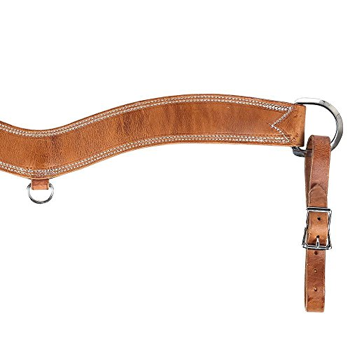 Nrs Breast Collar - NRS 2 1/2 Contoured Steer Tripping Breast Collar