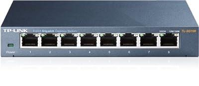 TP-Link Ethernet Steel Desktop Switch